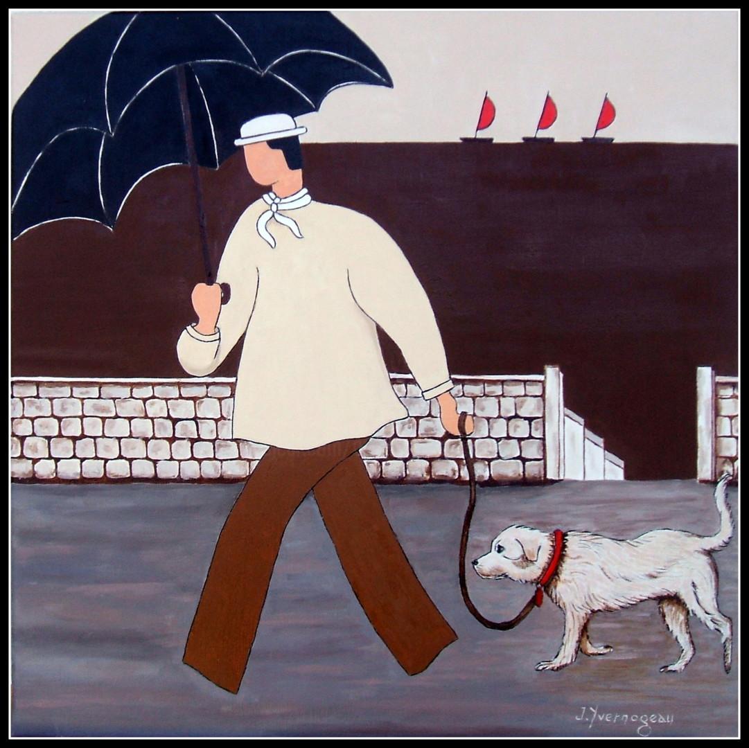 Jacques Yvernogeau - Je sors le chien !!!